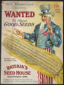 Ratekin's Seed House  Men, Women and Children Wanted to Plant Good SeedsVintage Flower, Vintage Seeds Packets, Seeds House, Ratekin Seeds, Victory Garden, Seeds Catalogue, Art, Vintage Gardens, Plants Seeds