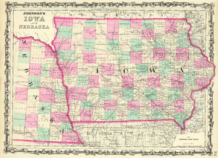 Best Iowa Images On Pinterest Iowa Maps And Globes - Map of nebraska towns