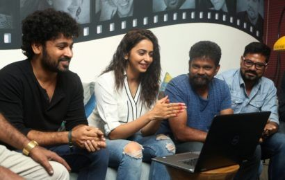 Rakul Preet Singh Launched Darshakudu Movie Songhttp://tollywoodchat.com/rakul-preet-singh-launched-director-sukumar-song