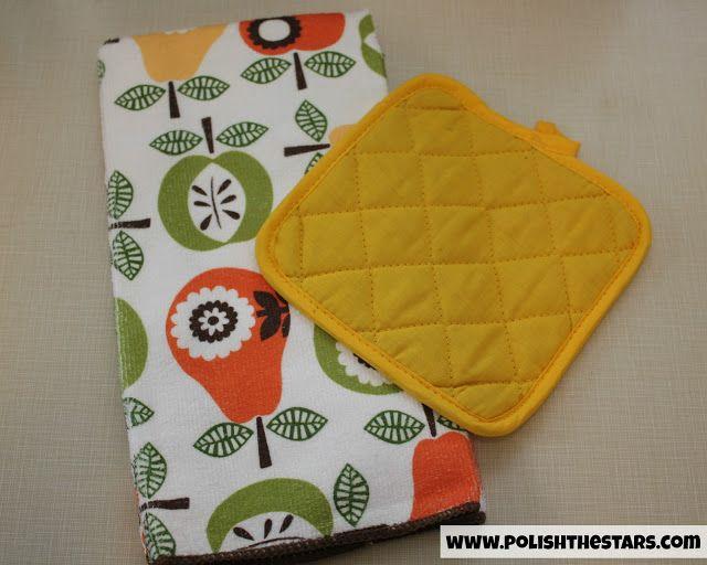 Polish The Stars: 5 Minute No-Slip Dish Towel