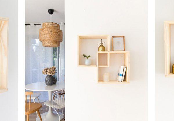 faire des etageres avec des cubes