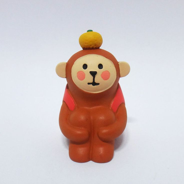 Concombre DECOLE Japan Cute Lovely Kawaii Figure Tangerine Monkey #ConcombrebyDECOLE