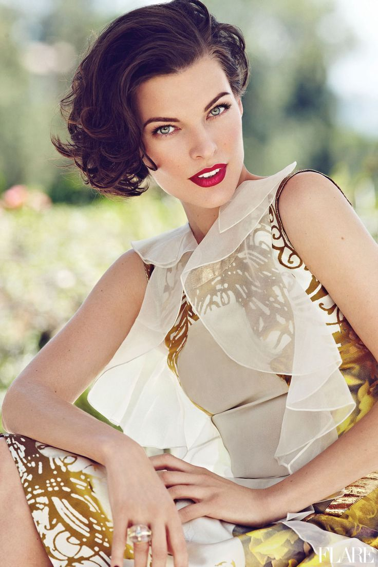 Milla Jovovich - October 2012 Fashion Director, Elizabeth Cabral