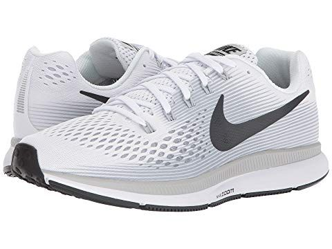 Nike Air Zoom Pegasus 34 White Anthracite Pure Platinum Wolf Grey Nike Shoes Running Shoes For Men Nike Air Zoom Pegasus Nike