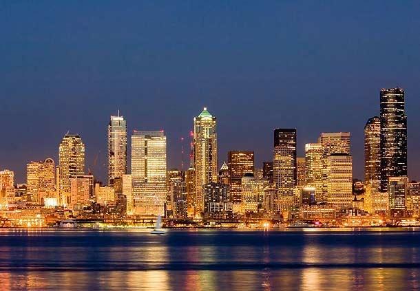 Elije tu hotel en Washington y disfruta del skyline de Seattle