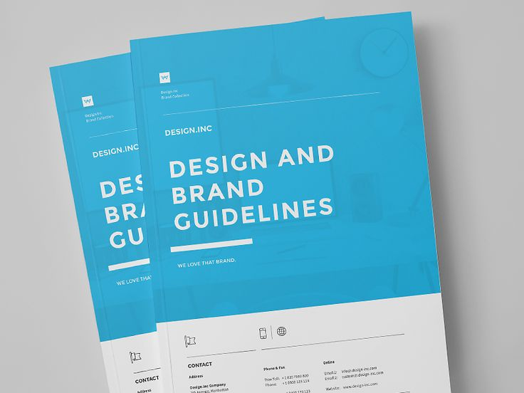 Superior Brand Manual With Manual Design Templates