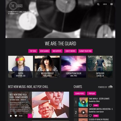 Design a Logo for Indie Record Label / Music Blog Logo