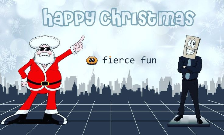 Happy Christmas from fiercefun!