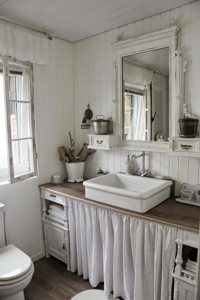 Vasque Salle De Bain A Poser Salle De Bain Shabby Chic Vintagechicdecor Shabby Chic Bathroom Vintage Bathroom Decor Shabby Chic Room
