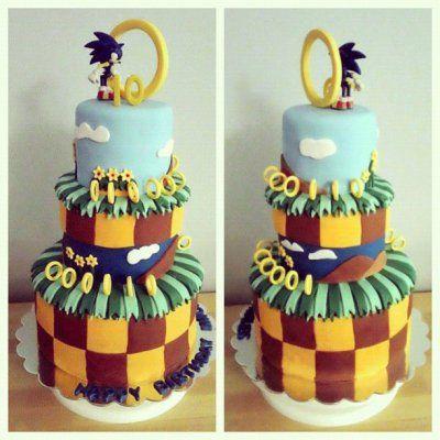 Sonic Birthday Cake | neurotic baker