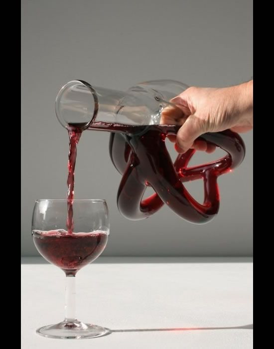 Cool wine decanter