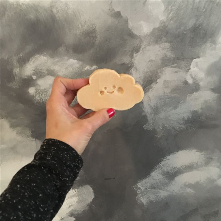 Cloud soap with a big smile :) it's so cute ❤