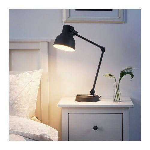 HEKTAR Arbeitslampe mit kabellosem Laden – IKEA   – Breazy Office