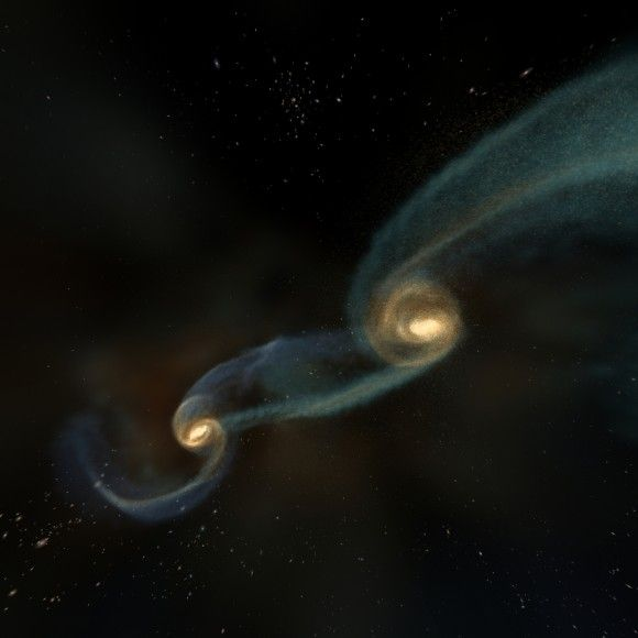 Using Gravity to Peer into the Most Violent Places in the Universe: Colliding Black Holes