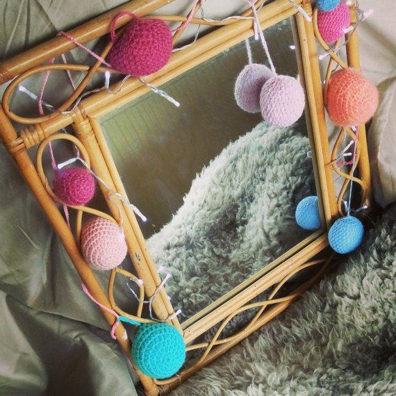 FIVER FRIDAY  Crochet bunting balls  decorative balls