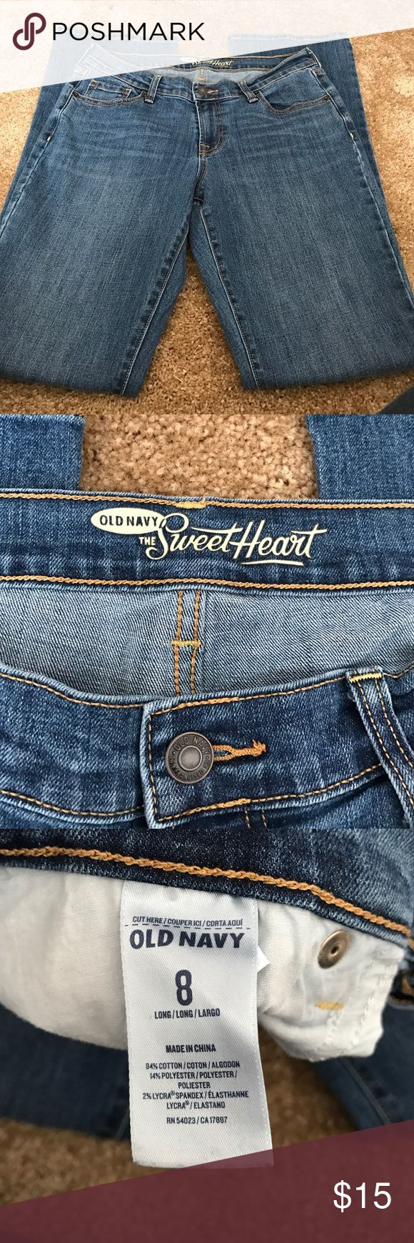 Old navy jeans Gently used great shape old navy sweetheart jeans Old Navy Jeans Boot Cut