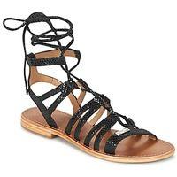 Chaussures Femme Sandales et Nu-pieds Les Tropéziennes par M Belarbi HERCULE Noir