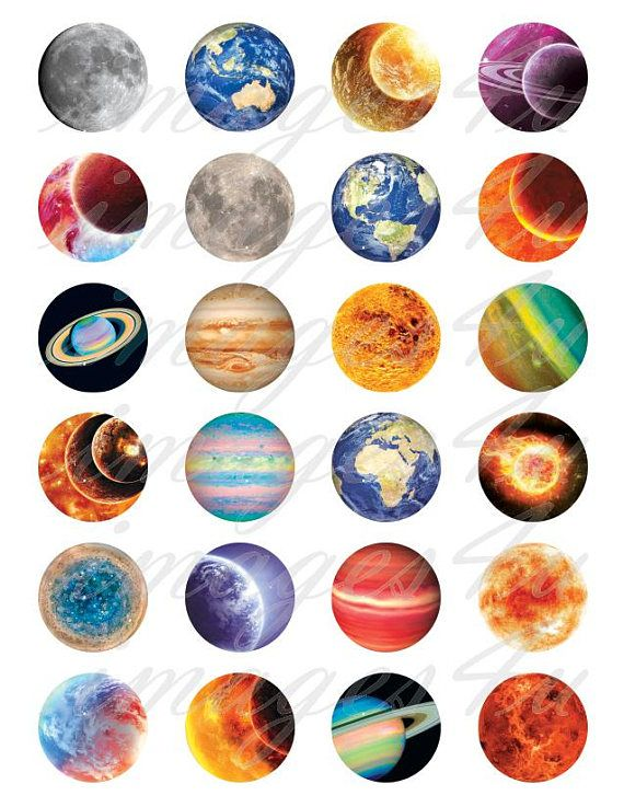 Sun Solar System Space Planets Science 25mm 1 Inch D Pin Button Badge