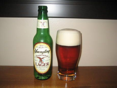 yuengling! the best lager you *can't* get in california