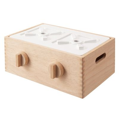 Wooden stove top for kids.