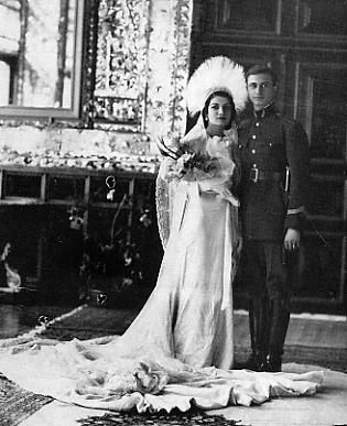 Princess Ashraf Pahlavi - on her marriage (note: not that I like her. It's just history!)