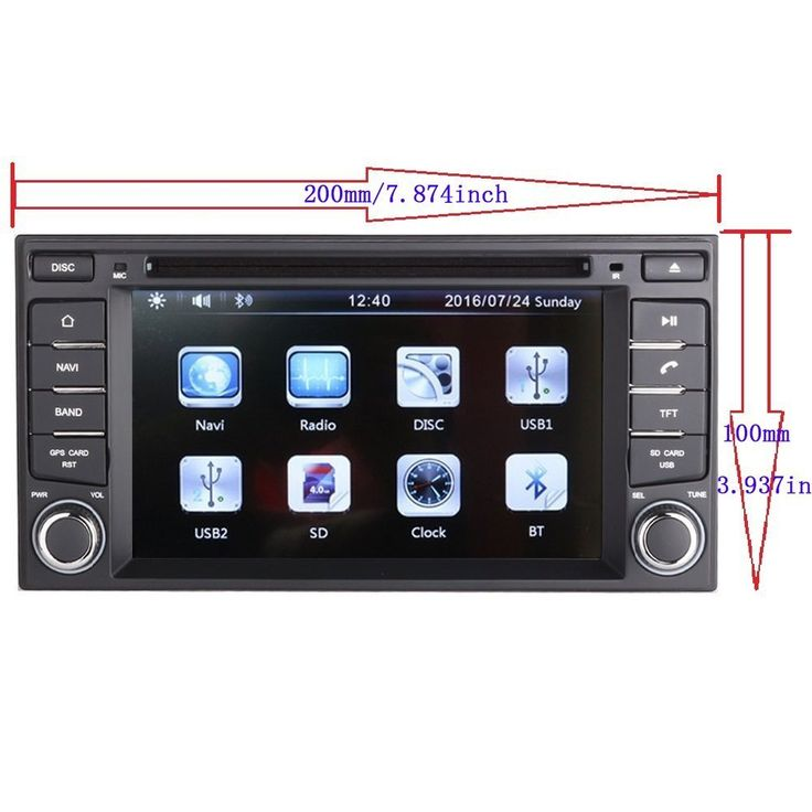 6 2 Touchscreen DVD Multimedia GPS Navigation Radio for 2012 Nissan Maxima