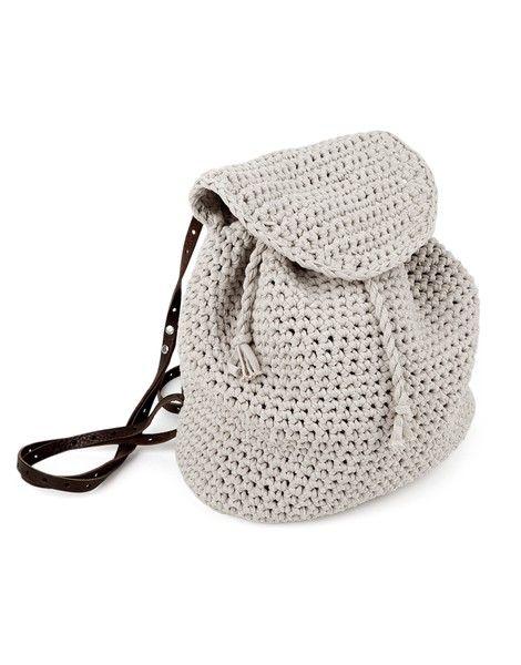 Jackson Backpack | Crochet it | woolandthegang.com