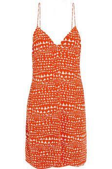 Stella McCartney Printed silk-chiffon dress | NET-A-PORTER