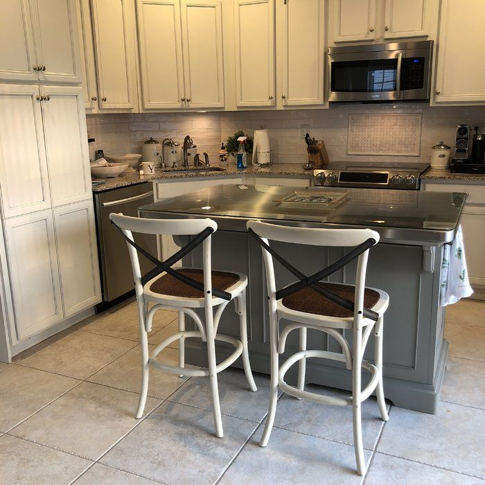 Simple Office Room Design, Paula Deen Home Dogwood Kitchen Island With Stainless Steel Counter Top Reviews Wayfair Stainless Steel Counters Countertops Kitchen Dining Furniture