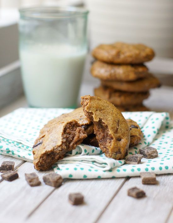 The Healthiest Cookies EVER (Paleo, Vegan). Made with 100% whole food ingredients-- no flour, no added oil, and no added sugar!