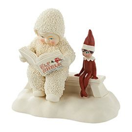 """Department 56: COLLECTING - """"Elf On The Shelf Listens Story"""" - New Introductions Jan 2015"""