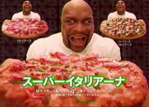 This Pizza Has Bob Sapp in Some Sort of Hypnosis
