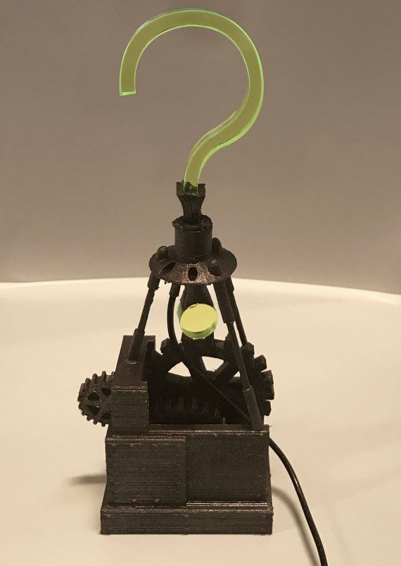 Riddler Trophy Batman Arkham City USB  3D printed