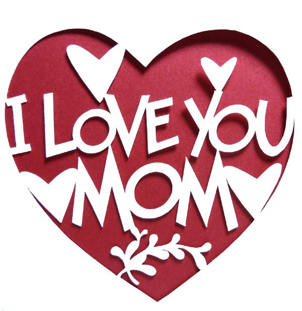 When it comes down to it, there's no gift, no card that can match the emotion of these four words, I love you Mom #MothersDay