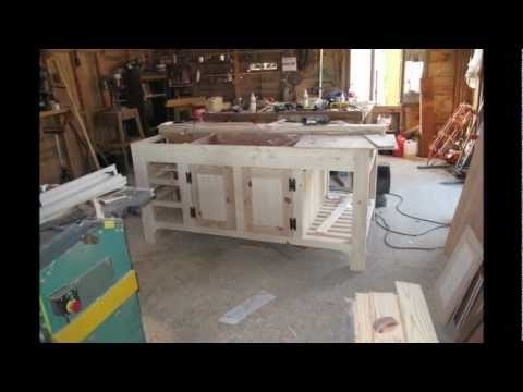 How to make a kitchen island unit