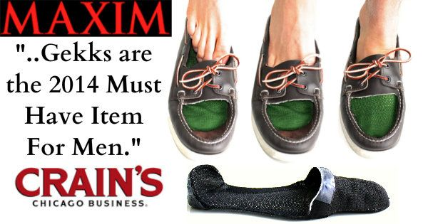 It's time to go sockless! No more smelly boat shoes & loafers! Meet Gekks!
