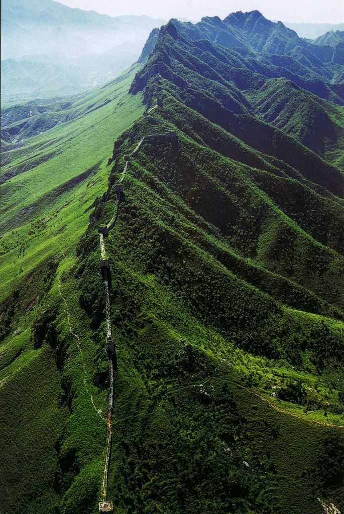 The Great Wall of China - you just walk a mile or some when you're touring. What an adventure to hike The Wall like one hikes the Appalachian Trail in the USA.