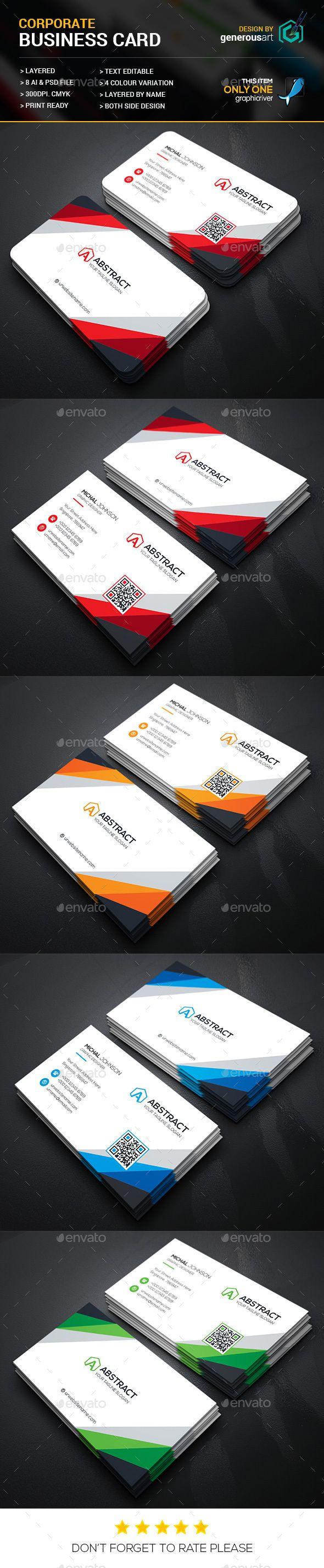 24 best Business Cards images on Pinterest | Business card design ...