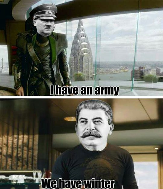 Stalin: The Winter Soldier -- I REALLY shouldn't have laughed so hard