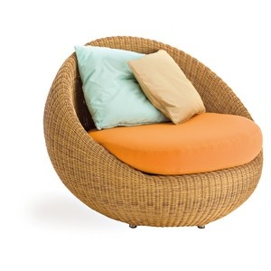 The Point Bubble Outdoor Wicker Lounge Chair Is Perfect For The Patio, Pool  Or Outdoor Room.