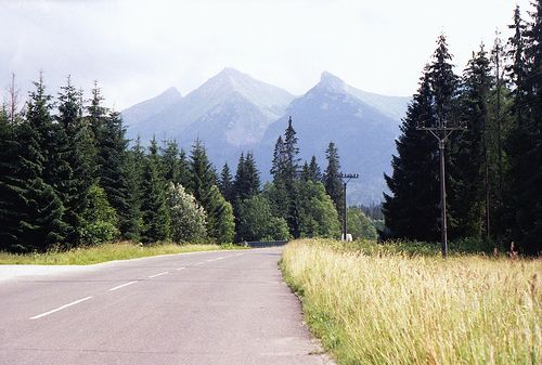 Tatra Mountains in Slovakia. July, 2013.
