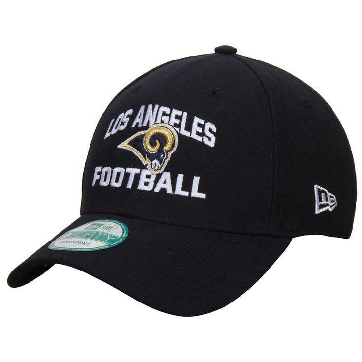 Los Angeles Rams New Era Football Structured 39THIRTY Flex Hat - Navy