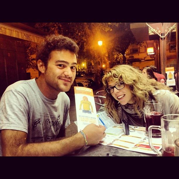 #friends #espana #erasmus #sevilla #100montaditos #cerveza #fb #emborrachera #tintodeverano #patatas #italianosenespana #italianiinfuga #italians #lookingforpiso #cena #comer #instagram #instahub #webstagram #photooftheday #dailyphoto #tapas #nerd - @Orazio Maffei- #webstagram