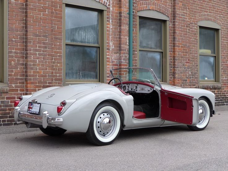 fine dove grey 1961 MGA Roadster | FHNL93345 on eBay May 2014 - love this color :)