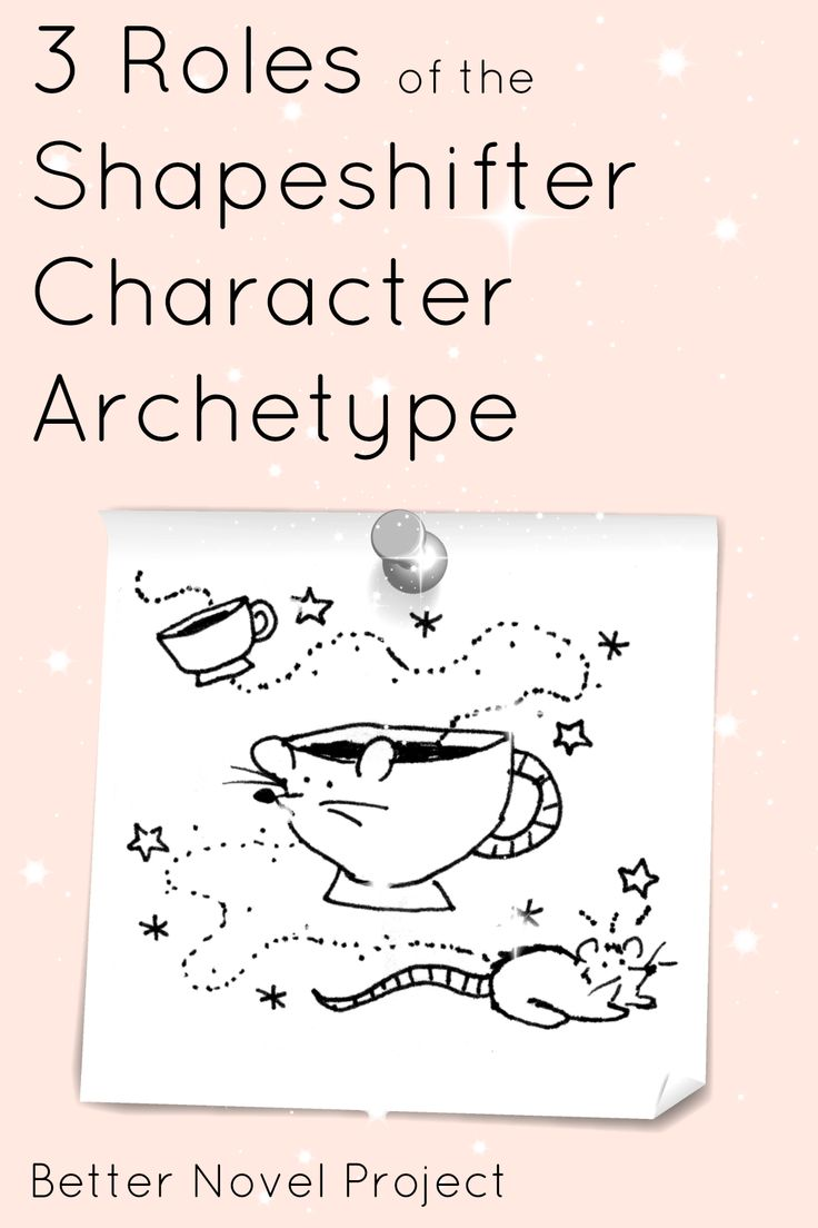 3 Roles of the Shape Shifter Character Archetype (and how to write this character into your novel just like Harry Potter & The Hunger Games)