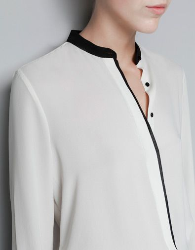 Love it. I have a shirt like this from Victorias Secret....its beige with black trim and one of my favorites