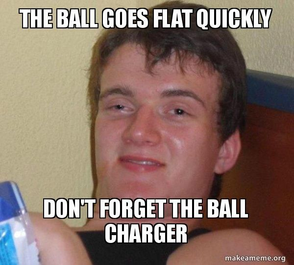 Roommates wanted to play drunk volley ball