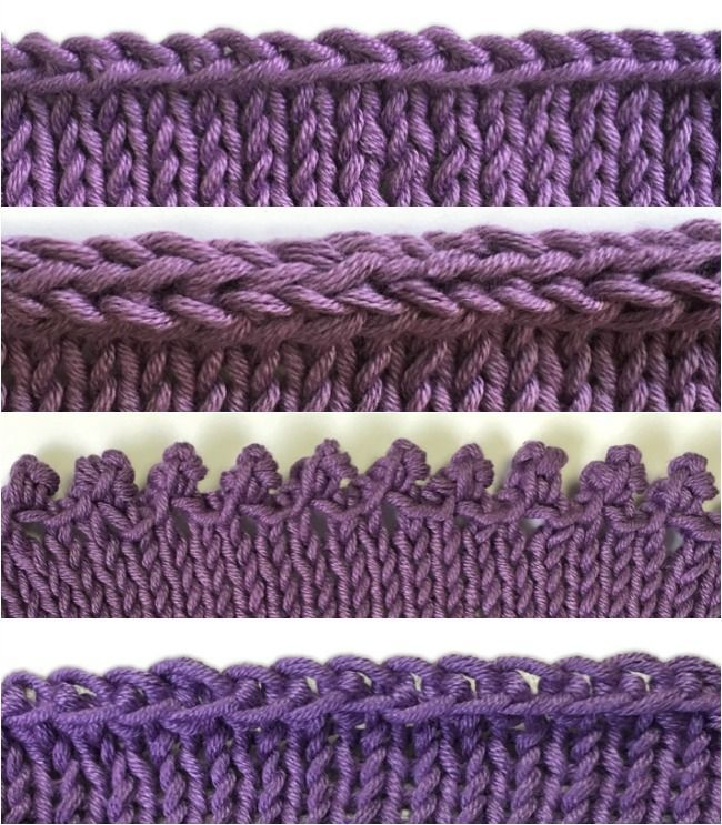Conquer four different bind-offs (and learn when to use each one) with these detailed photo tutorials from knitting expert Terry Matz.