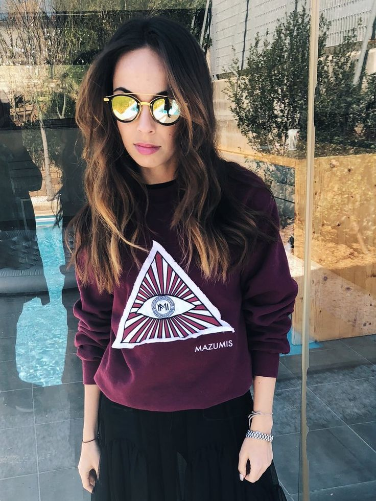 Sweatshirt ,,EVIL EYE''