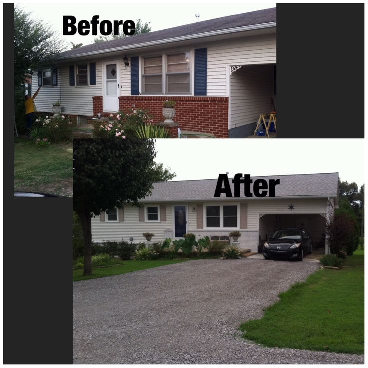 1000 images about remodel on pinterest front doors for Brick houses without shutters